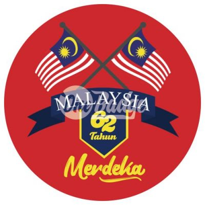 Merdeka Theme Button Badge 11