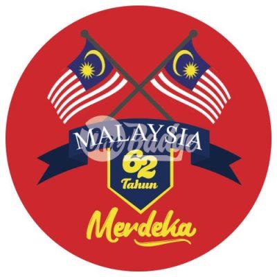 Merdeka Theme Button Badge 11