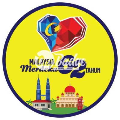 Merdeka Theme Button Badge 6