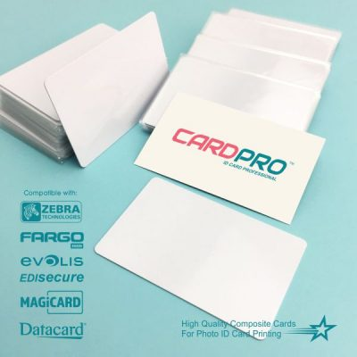 Blank PVC ID Card Material 5