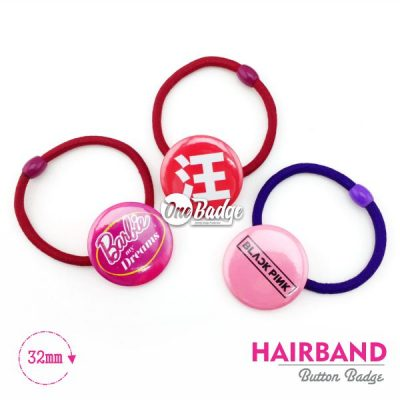 Hair Band Badge Custom Print 1