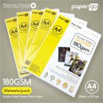 Papergo 180gsm Glossy Double Side Photo Paper -1.1