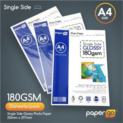 Papergo 180gsm Single Side Photo Paper-1