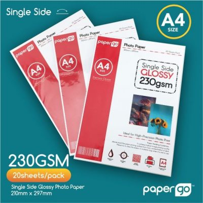 Papergo 230gsm Single Side Photo Paper -1