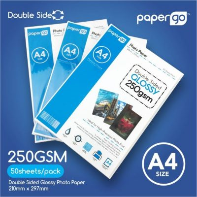 Papergo 250gsm Glossy Double Side Photo Paper -1.1