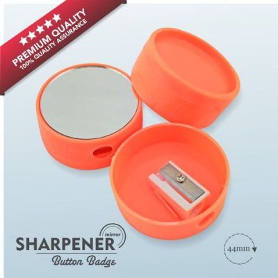 Sharpener Button Badge Material Main2