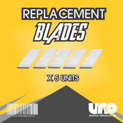 Uno Cutter Black Replacement Blades