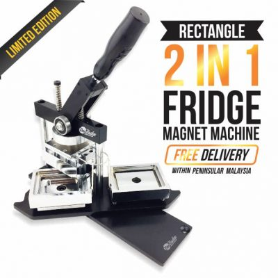 Rectangle Fridge Magnet Machine – 80mm x 53mm-1