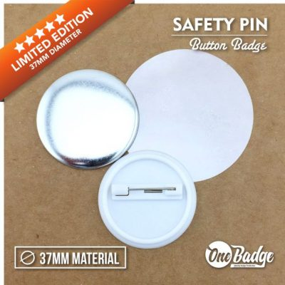 37mm Button Badge Material 58mm-1