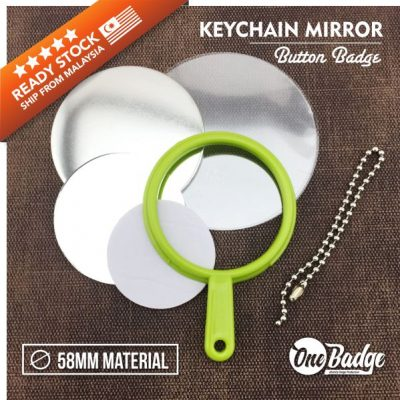 Handheld Mirror KeyChain Holder – 1