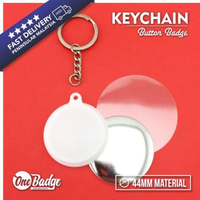 Keychain Button Badge 44mm