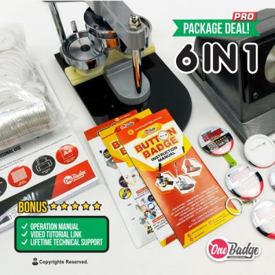 Button Badge Machine 6 in 1