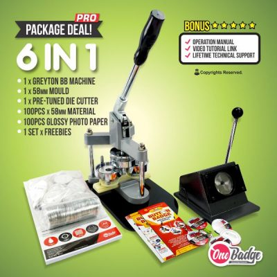 Package Badge Machine Professional Level – 2- Greyton