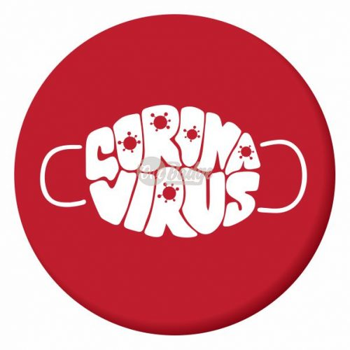 coronavirus button badge design 9