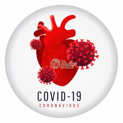 coronavirus button badge theme-7