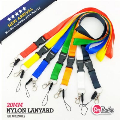 Nylon Lanyard Full Spec Main
