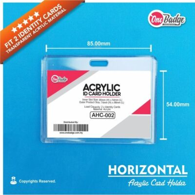 Horizontal Acrylic Card Holder-4