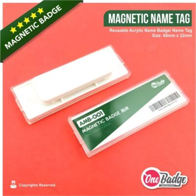 Magnetic Name Badge – AMB-001